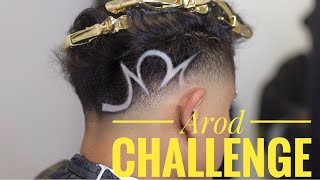 AROD CHALLENGE BY JAY TEE THE BARBER!!!!!!