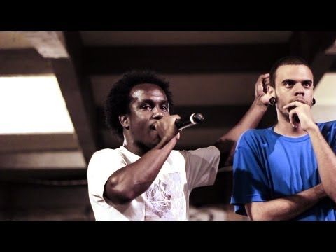 Duelo de MC's - FINAL -  Well vs Din :: Tradicional + - 22/02/13 klip izle