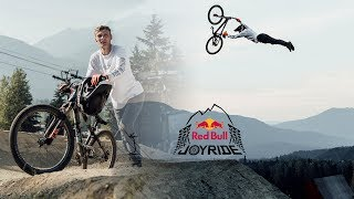 BIGGEST SLOPESTYLE COURSE I EVER RODE - REDBULL JOYRIDE