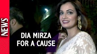 Latest Bollywood News - Dia Mirza Supports Under Privileged Children - Bollywood Gossip 2016