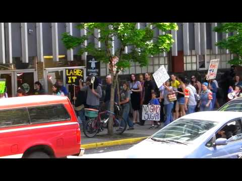 March against Monsanto, Eugene, OR, 5.25.13