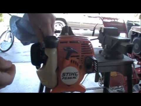 Stihl String Trimmer Spring Start up