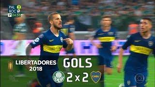 Palmeiras 2 x 2 Boca Juniors - Semifinal Libertadores 2018 - Globo HD⁶⁰