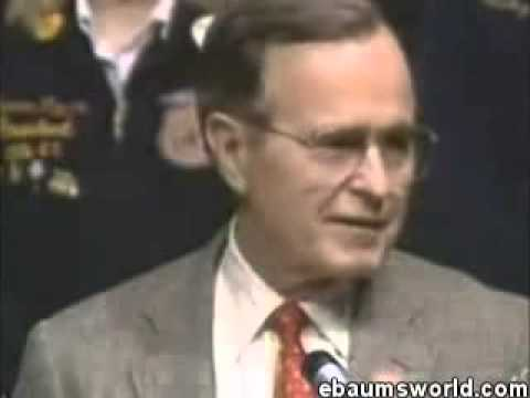 George Bush worst Freudian Slip in history on TV! must see!