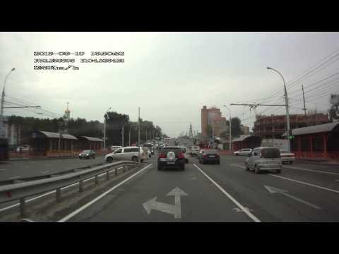 ДТП на Байкальской Туарег vs Форд