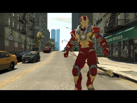 GTA IV: how to be iron man - (GTA IV iron man)