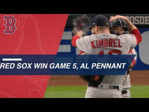 Red Sox top Astros in Game 5 of ALCS to win pennant