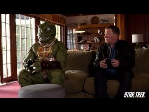 Star Trek The Video Game - William Shatner vs Gorn Trailer