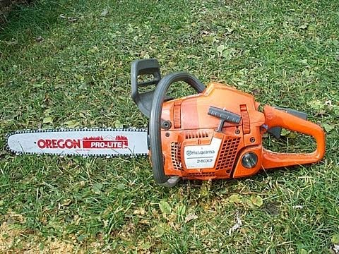 Husqvarna 346xp Chainsaw Scored Piston Compression Test & Startup