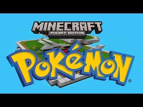 Pokémon In Minecraft Pocket Edition!