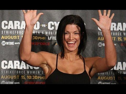 Dana Says Deal with Gina Carano Tantalizingly Close UFC 177 scrum