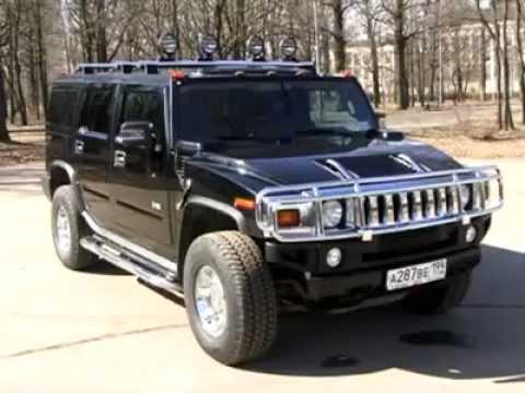Тест-драйв автомобиля Hummer H2