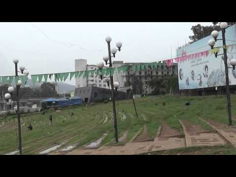 Meskel Square Or Revolutionary Square In Addis Ababa Ethiopia video