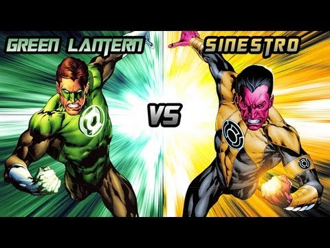 Injustice: Gods Among Us - Green Lantern Vs. Sinestro