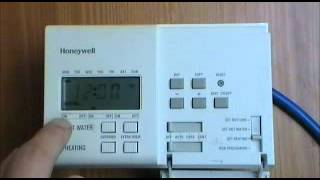 How to Program a Honeywell Thermostat