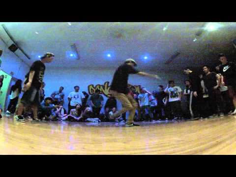 Round4 - BLANK CANVAS vs FLAVAWAVE - Sydney Bboy League 2