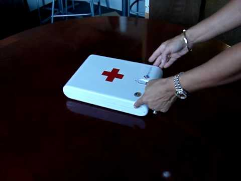 0 RxDrugSAFE Fingerprint Home Medical safe