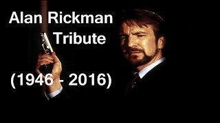 Alan Rickman Iconic Characters Tribute (1946 - 2016)