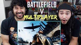 BATTLEFIELD 5 Official Multiplayer TRAILER REACTION!!!