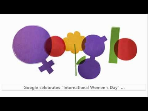 International Women's Day 2012 Google Doodle