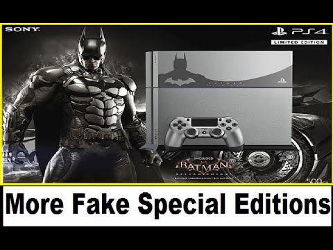 Batman: Arkham Knight Special Edition PS4. Bloodborne Beat in 37 minutes.Nintendo Direct 4.1.2015