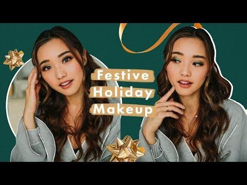Festive AF Holiday Makeup | GRWM