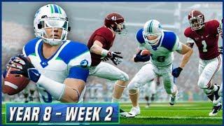 Kalispell's 100th Game - NCAA Football 14 Dynasty Year 8 - Week 9 vs Oregon | Ep.139