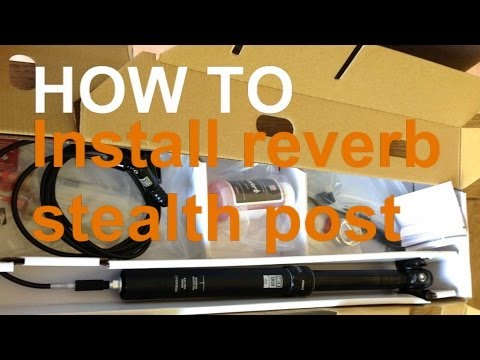 How To Fit Rock Shox Reverb Stealth post