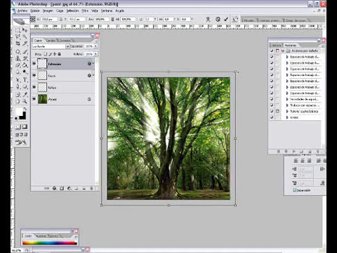Tutorial Photoshop : Crear rayos solares