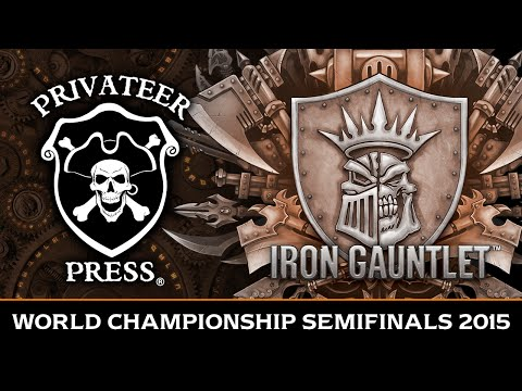 Iron Gauntlet World Championship Semifinals 2015