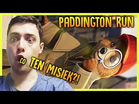 MIŚ TEŻ MOŻE BIEGAĆ - Paddington Run  (DARMOWE GRY DLA DZIECI NA TELEFON)