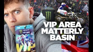 Sneaking into VIP at the 2017 Motocross of Nations at Matterley Basin