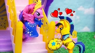 My Little Pony Toys & Dolls - Soldier Flash Sentry Falls in Love With MLP Princess Twilight Sparkle