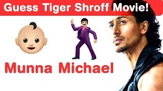 Tiger Shroff Emoji Challenge! Guess Bollywood Movies