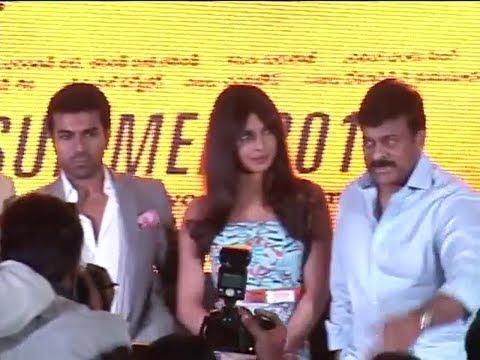 Thoofan  Trailer Launch – Priyanka Chopra, Ram Charan, Chiranjeevi