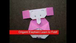 How To Make An Origami Big Ear Elephant
