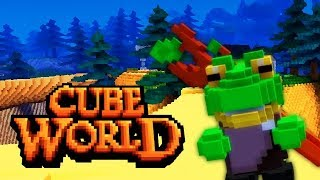 Cube World 1.0 - Missing the Mark (Review)