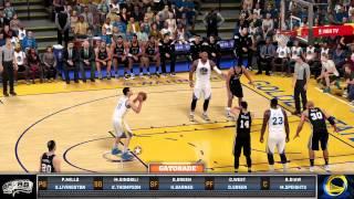 NBA2K16 Warriors vs Spurs Online (PS4)