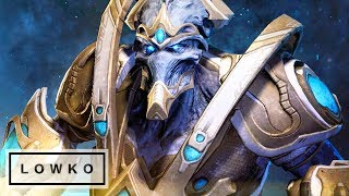 StarCraft 2: HYPER AGGRESSIVE PROTOSS!