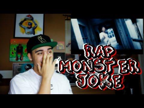 Rap Monster  - Joke Mv Reaction [he Got Bars] video