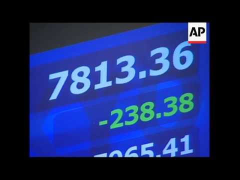 Japan's Nikkei stock index falls 2.84 per cent in morning trading