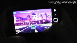 BlackBerry 9860 Torch - Demo gameplay Asphalt 6 Adrenaline