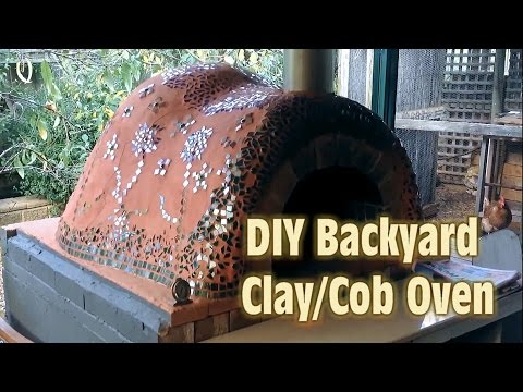 The Ultimate Clay Cob Oven Video