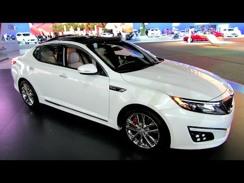 2014 KIA Optima SXL - Exterior and Interior Walkaround - 2013 LA Auto Show