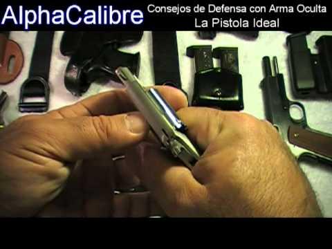 La Pistola Ideal como Arma Oculta