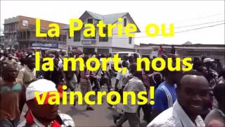 MESSAGE A LA NATION DU PATRIOTE  JACKSON KALONJI MUSHILA.