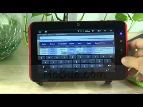 McBub - A9 Zenithink ZT-280 C71 5-Point Capacitive Touchscreen Android 2.3 Tablet