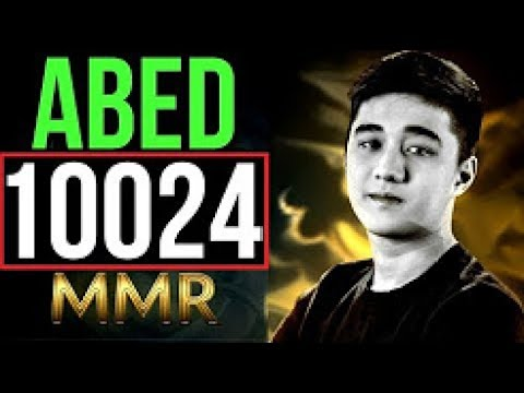 DC.Abed Dota 2 | The 9999 MMR Game | Pro Live Commentary