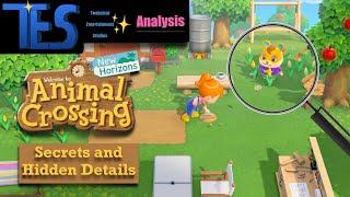 Animal Crossing New Horizons Secrets and Hidden Details (Trailer and Treehouse Live Analysis)