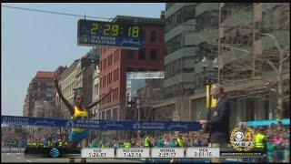 Atsede Baysa Pulls Away To Win Women's Boston Marathon